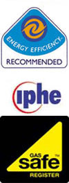 gas safe registered,oftec,energy efficient,institute of plumbing